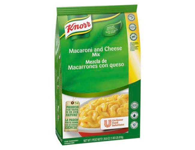 Knorr Professional Soup du Jour Mix Macaroni and Cheese, 28.8 ounce -- 4 per case