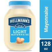 Hellmann's Light Mayonnaise Jar, 1 Gallon -- 4 per Case