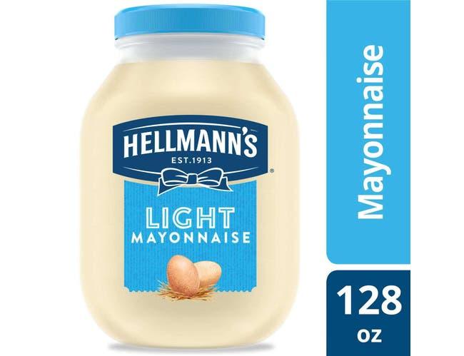 Hellmann's Light Mayonnaise Jar, 1 Gallon -- 4 per Case