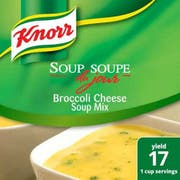 Knorr Professional Soup du Jour Broccoli Cheese Soup Mix, 21 ounce -- 4 per case