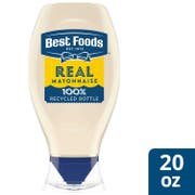 Best Foods Real Mayonnaise Squeeze Bottle, 20 ounce -- 12 per case