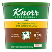 Knorr Professional Select Beef Stock Base, 1.99 pound -- 6 per case