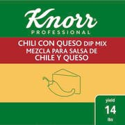 Knorr Professional Chili Con Queso Dip Mix, 1.06 pound -- 6 per case