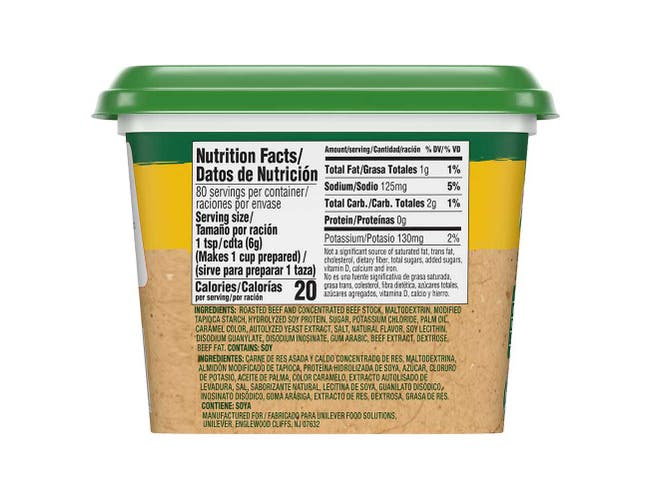 Knorr Professional Ultimate Low Sodium Beef Stock Base, 1 pound -- 6 per case