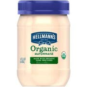 Hellmanns Organic Original Mayonnaise Spread, 15 Fluid Ounce -- 6 per case