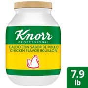 Single Knorr Professional Caldo de Pollo Chicken Bouillon Base, 7.9 Pound -- 1 each