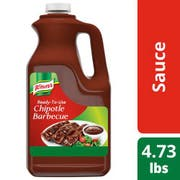 Knorr Professional Ready-to-Use Chipotle Barbecue Sauce, 0.5 gallon -- 4 per case