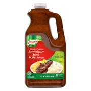 Knorr Professional Ready-to-Use Jamaican Jerk Sauce Jug, 0.5 gallon -- 4 per case