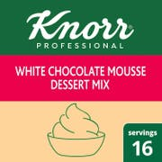 Knorr Professional White Chocolate Mousse Dessert Mix, 7.3 ounce -- 10 per case