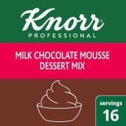 Knorr Professional Milk Chocolate Mousse Dessert Mix, 8.75 ounce -- 10 per case