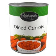 Restaurant Preferred Diced Carrots, 105 Ounce Can -- 6 per case