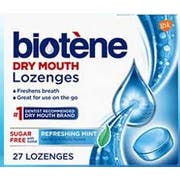 Biotene Dry Mouth Lozenges - 27 count per pack -- 12 packs per case