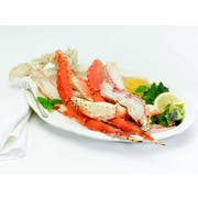 Oyster Bay King Crab 9/12 Count Split In Shell Cooked Wild Red Leg and Claw, 10 Pound -- 1 each