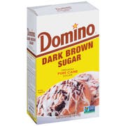 Domino Dark Brown Sugar, 1 Pound -- 24 per case