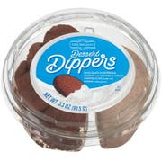 Richs Dessert Dippers Cookies N Creme Chocolate Shortbread Cookie, 3.3 Ounce -- 18 per case