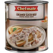 Chef Mate Thin Sliced Beef Cream Entree 6 Case 96 Ounce