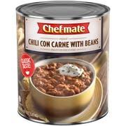 Chef-Mate Original Chili Con Carne with Beans - 107 oz. can, 6 per case
