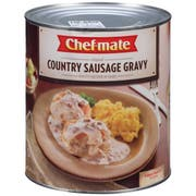 Chef Mate Country Sausage & Gravy Entree 6 Case 96 Ounce
