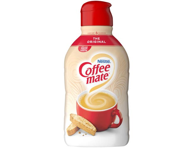 Nestle Coffee Mate Original Non Dairy Liquid Creamer, 64 Fluid Ounce -- 6 per case.