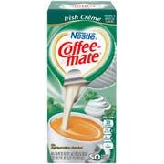 Coffee-Mate Irish Cream Liquid Creamer - 50/0.375 oz. cups per box, 4 boxes per case