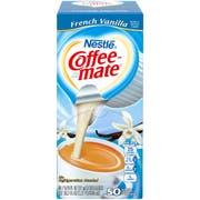 Coffee-Mate French Vanilla Liquid Creamer - 50/0.375 oz. cups per box, 4 boxes per case