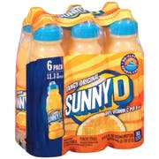 Sunny Delight Tangy Original Beverage - Shelf Stable, 11.3 Fluid Ounce -- 4 per case.