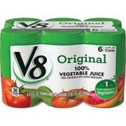 V8 Original 100 Percent Vegetable Juice, 5.5 Ounce -- 48 per case