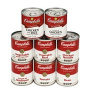 Campbells Ready To Serve Vegetable Soup - 7.25 oz. can, 24 per case