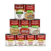 Campbells Ready To Serve Low Sodium Cream Mushroom Soup - 7.25 oz. can, 24 per case