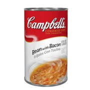 Campbells Condensed Bean Soup With Bacon - 52 oz. can, 12 per case