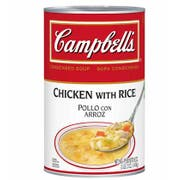 Campbells Condensed Chicken Soup w/ Rice - 50 oz. can, 12 per case