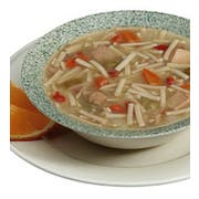 Campbells Ready To Serve Low Sodium Chicken Noodle Soup - 50 oz. can, 12 per case