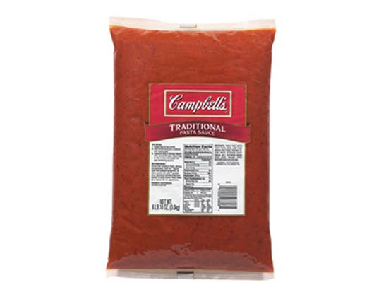 Sauce Ready To Serve Traditional Spaghetti, 106 Ounce -- 6 Case