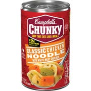 CHUNKY Classic Chicken Noodle Soup - 19 oz. can, 12 per case