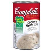 Campbells Condensed Healthy Request Cream of Mushroom Soup - 50 oz. can, 12 per case