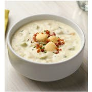 Campbells Frozen Condensed Boston Clam Chowder - 4 lb. tray, 3 per case
