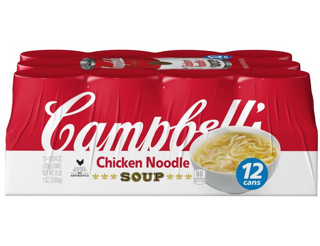 Campbells Chicken Noodle Soup, 129 Ounce -- 1 each