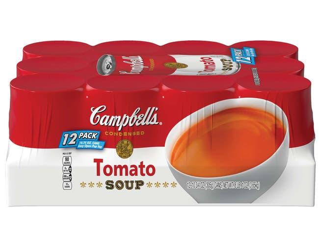 Campbells Tomato Soup, 129 Ounce -- 1 each