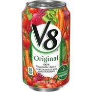 Campbells Soup V8 100 Percent Vegetable Juice, 11.5 Ounce Can -- 24 per case.