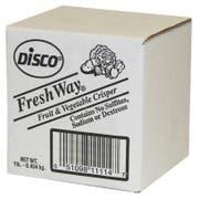 Disco Freshway Fruits and Vegetables Crisper, 1 Pound -- 12 per case.