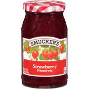 Smuckers Strawberry Preserves, 18 Ounce -- 12 per case.
