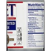 Pet Milk Evaporated Milk, 12 Fluid Ounce -- 24 per case.