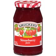 Smuckers Seedless Strawberry Jam, 18 Ounce -- 12 per case.
