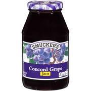 Smuckers Grape Jam, 32 Ounce -- 12 per case.