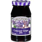 Smuckers Concord Grape Jelly, 12 Ounce -- 12 per case.