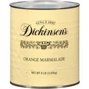 Dickinson Orange Marmalade, 8.25 Pound -- 6 per case.