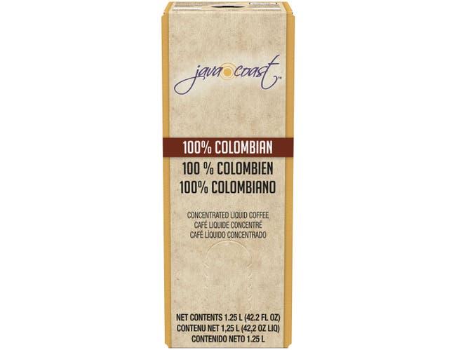 Java Coast 100 Percent Colombian Concentrated Liquid Coffee, 1.25 Liter -- 2 per case.
