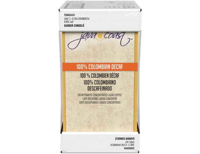 Java Coast 100 Percent Colombian Decaffeinated Liquid Coffee, 2 Liter -- 2 per case.