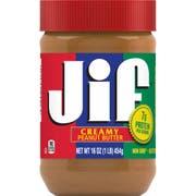 Jif Creamy Peanut Butter, 16 Ounce -- 12 per case.