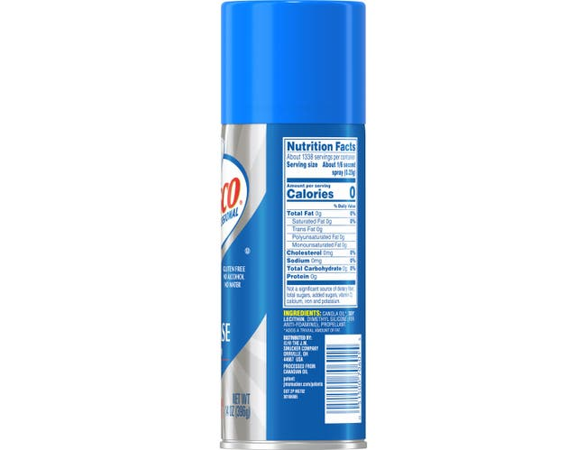 Crisco Pan Release Spray, 14 Ounce -- 6 per case.